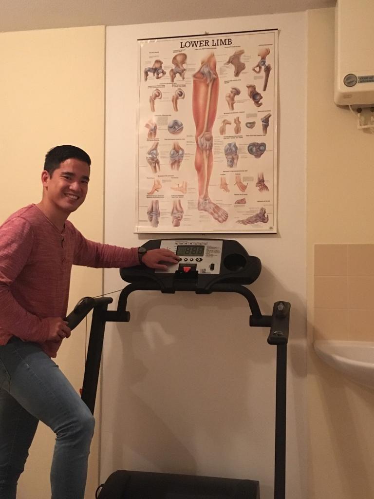 Loopband fysiotherapie revalidatie